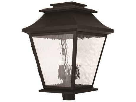 Livex Lighting Hathaway Bronze Five-Light Outdoor Post Light