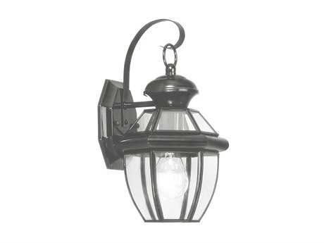 Livex Lighting Monterey Black Outdoor Wall Light LV205104
