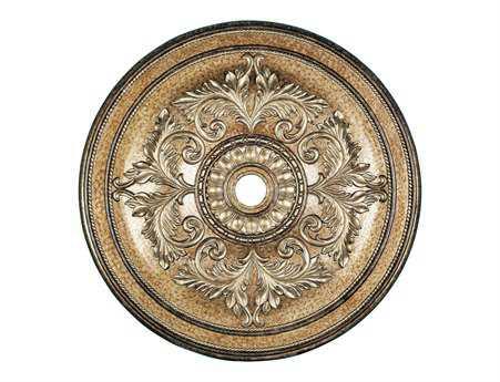 Livex Lighting Vintage Gold Ceiling Medallion LV822865