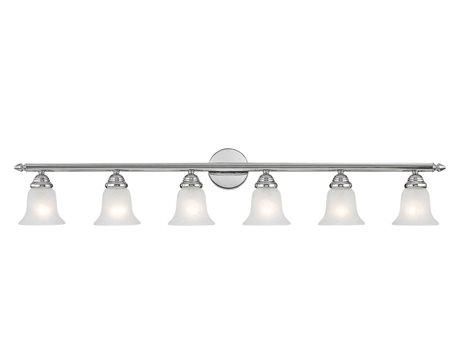 Livex Lighting Neptune Chrome Six-Light Vanity Light LV106605