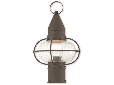 Livex Lighting Newburyport Bronze Outdoor Post Light