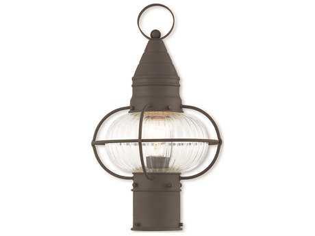 Livex Lighting Newburyport Bronze Outdoor Post Light LV2700207