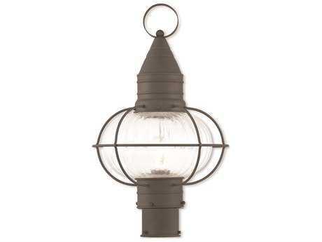 Livex Lighting Newburyport Bronze Outdoor Post Light LV2700507