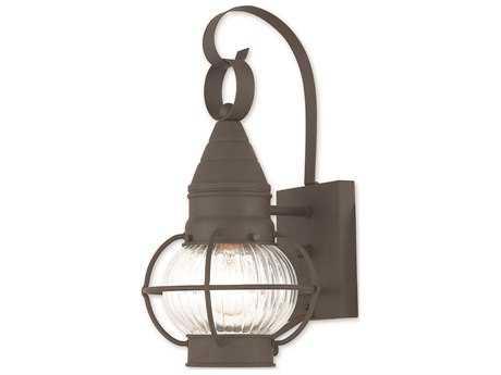 Livex Lighting Newburyport Bronze Outdoor Wall Light LV2700007