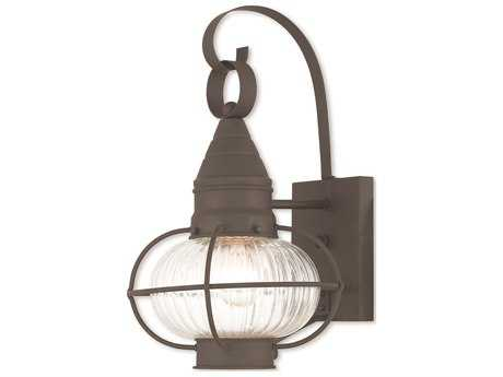 Livex Lighting Newburyport Bronze Outdoor Wall Light