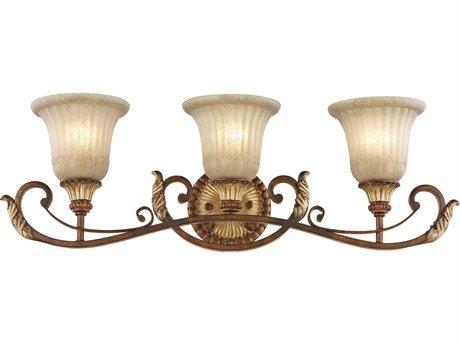 Livex Lighting Villa Verona Bronze Three-Light Vanity Light LV855363