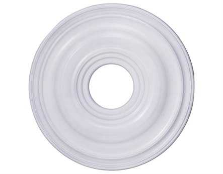 Livex Lighting White 16'' Ceiling Medallion