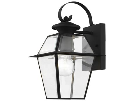 Livex Lighting Westover Black Outdoor Wall Light LV218104