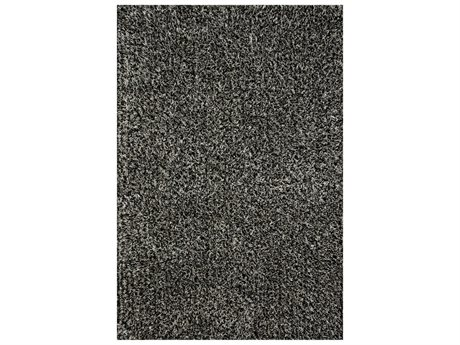 Loloi Rugs Carrera Shag Salt And Pepper Rectangular Area Rug
