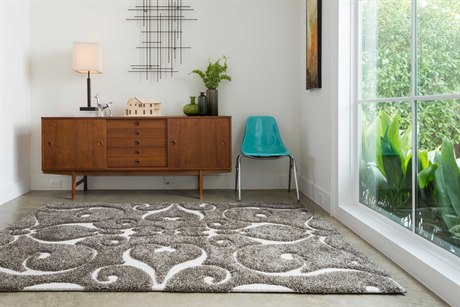 Loloi Rugs Enchant En-07 Runner Smoke Area Rug