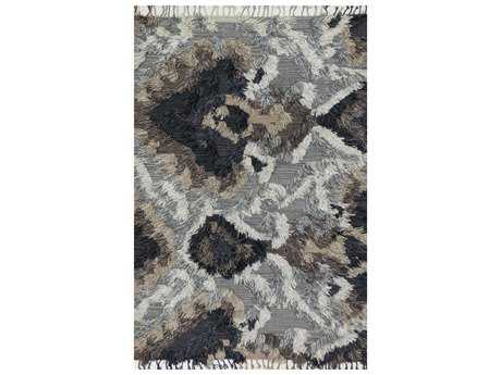 Loloi Rugs Fable FD-03 Rectangular Granite Area Rug LLFABLFD03GN00REC