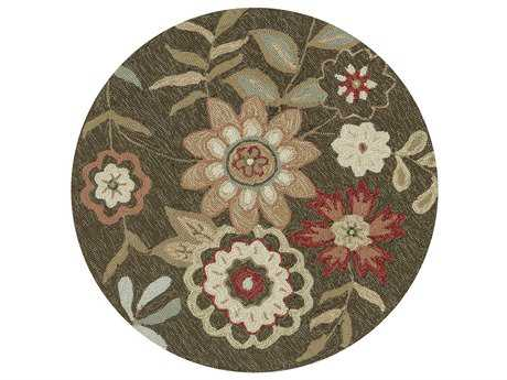 Loloi Rugs Francesca FC-02 3'0'' Round Brown Area Rug LLFRACFC02BR00ROU