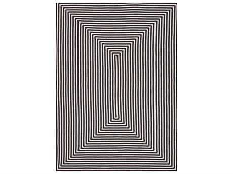 Loloi Rugs In-Out IO-01 Rectangular Black Area Rug