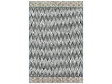 Loloi Rugs Isle IE-03 Rectangular Grey / Blue Area Rug