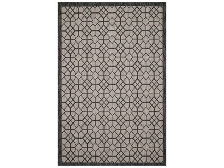 Loloi Rugs Isle Grey / Charcoal Rectangular Area Rug
