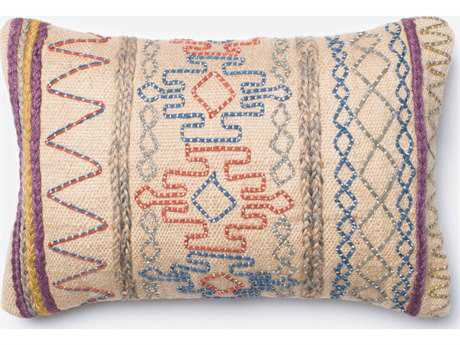 Loloi Rugs 13'' x 21'' Rectangular Multi Pillow (Sold in 4) LLP0237ML00PIL5