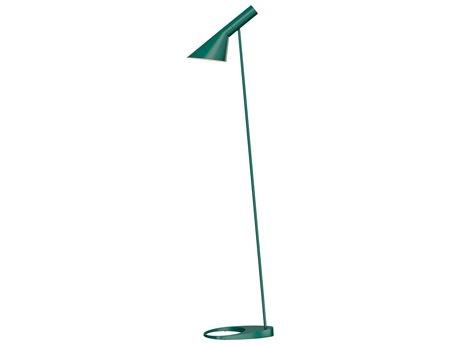 Louis Poulsen Aj Dark Green Floor Lamp LOU5744904687