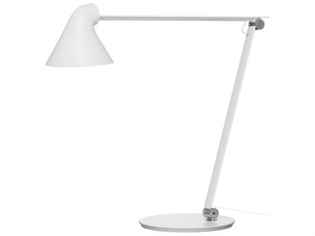 Louis Poulsen Njp White LED Desk Lamp LOUNJPTABLEWHITE