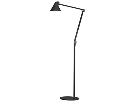 Louis Poulsen Njp Black LED Floor Lamp LOUNJPFLOORBLACK