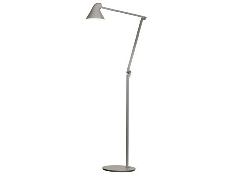 Louis Poulsen Njp Light Grey LED Floor Lamp LOUNJPFLOORLIGHTGREY