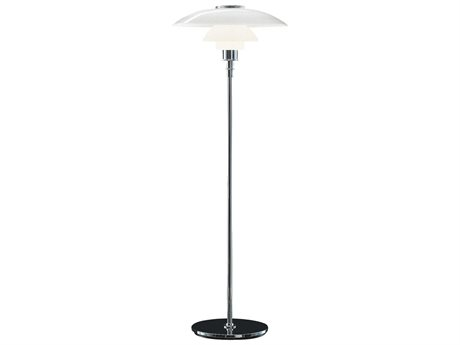 Louis Poulsen Ph Chrome LED Floor Lamp LOU5844901266