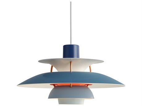 Louis Poulsen Ph Blue 6'' Wide LED Mini Pendants LOU10000142114