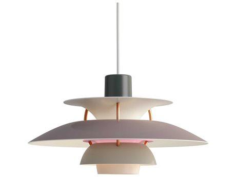 Louis Poulsen Ph Grey 6'' Wide LED Mini Pendants LOU10000142116