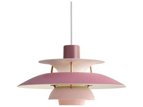 Louis Poulsen Ph Pink 6'' Wide LED Mini Pendants LOU10000142119