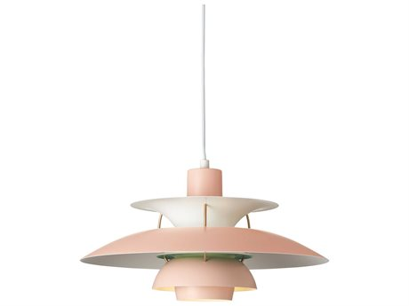 Louis Poulsen Ph Pink 10'' Wide Mini Pendants