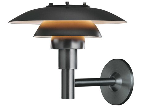 Louis Poulsen Ph Black LED Wall Sconce