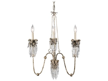Lucas McKearn Venetian Three-Light 25'' Wide Chandelier LCKCH10603
