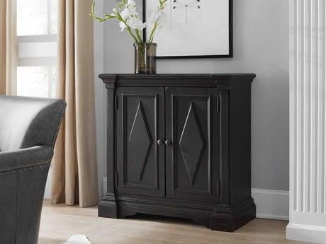 Luxe Designs Black Two-Door Accent Chest LXD6014950953BLK