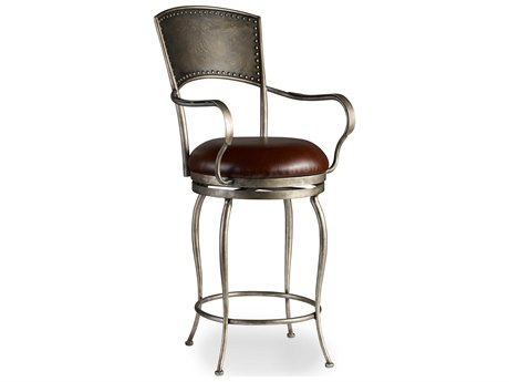 Luxe Designs Arm Swivel Bar Height Stool LXD4011982376