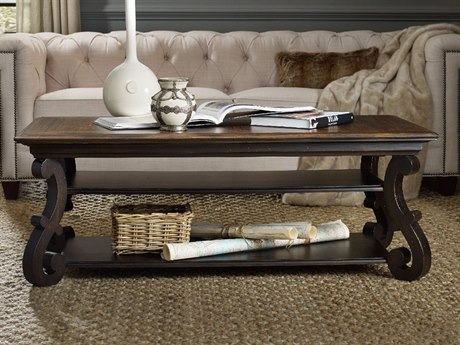 Luxe Designs 54''L x 32'' Wide Rectangular Coffee Table LXD54757930890