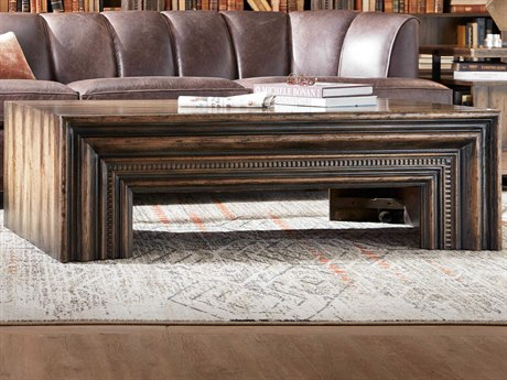 Luxe Designs 58'' Wide Rectangular Coffee Table