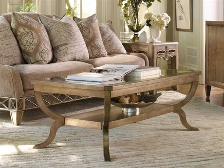 Luxe Designs 52''L x 30'' Wide Rectangular Coffee Table