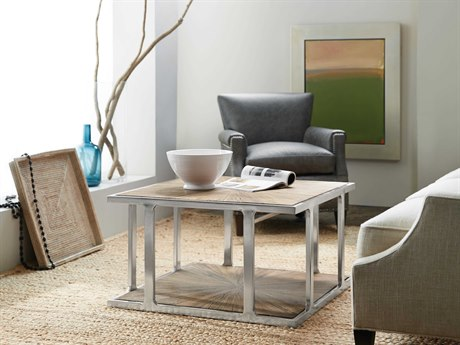 Luxe Designs 35''L x 35'' Wide Square Coffee Table LXD57354950099MWD