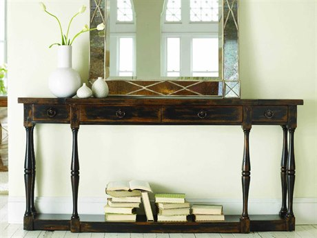 Luxe Designs Ebony 72''L x 12''W Rectangular Console Table LXD31068415099