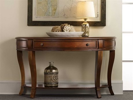 Luxe Designs 52''L x 18'' Wide Demilune Console Table LXD3828014949