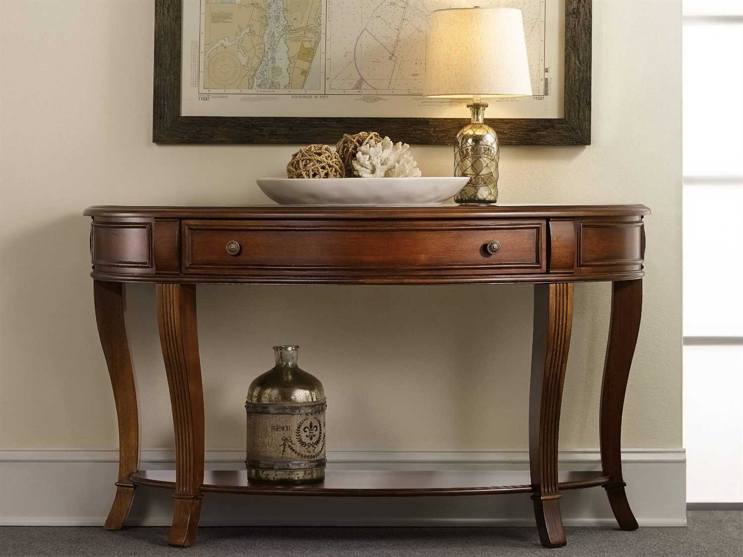 Amazing Luxe Designs 52L X 18 Wide Demilune Console Table Ibusinesslaw Wood Chair Design Ideas Ibusinesslaworg