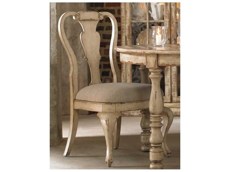 Luxe Designs White Splatback Taupe Dining Side Chair LXD51057465590