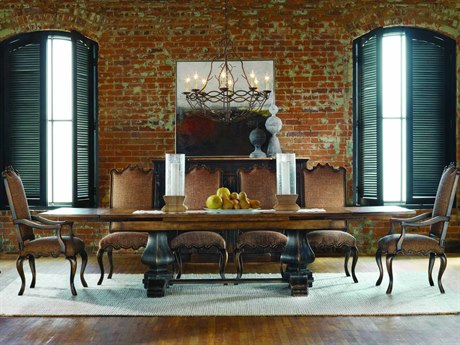 Luxe Designs 132''L x 46'' Wide Rectangular Dining Table