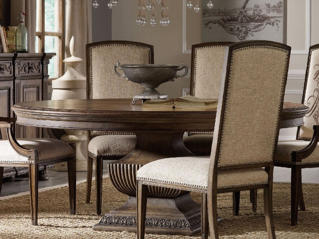 Luxe Designs 60'' Wide Round Dining Table | LXD51717445097