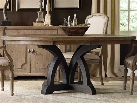Luxe Designs Round Dining Table with Extension LXD53817446087