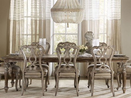 Luxe Designs 72''-108''L x 42'' Wide Rectangular Dining Table