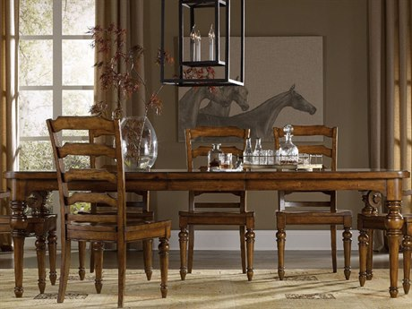Luxe Designs 78''-114''L x 44'' Wide Rectangular Dining Table
