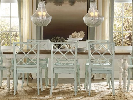 Luxe Designs 76''-112''L x 42'' Wide Rectangular Dining Table