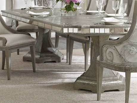 Luxe Designs 88'' Wide Rectangular Dining Table