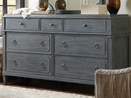Luxe Designs 7 Drawers Double Dresser LXD58718910198GRY