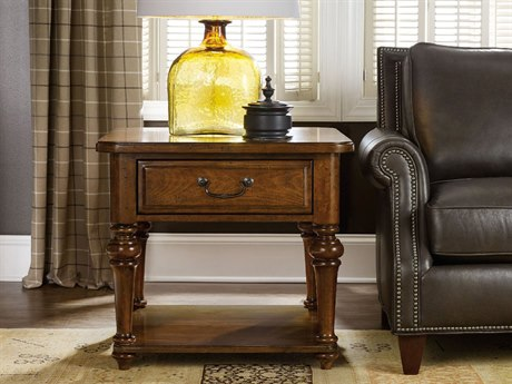 Luxe Designs 28''L x 28'' Wide Square End Table LXD54247931385